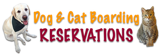 Dog and Cat Boarding Reservation Form